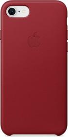 Apple Leder Case für iPhone 8 rot (MQHA2ZM/A)