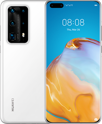 Huawei P40 Pro+ Dual-SIM ceramic white