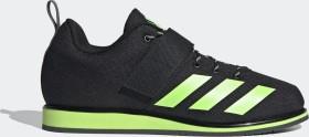 adidas Powerlift 4 core black/signal green/grey six (Herren) (FV6596)