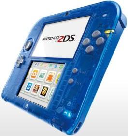 Nintendo 2DS transparent/blau