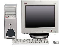 HP Compaq Professional Workstation AP550, P III 866MHz, 256MB, WinNT/Win2K (various types)