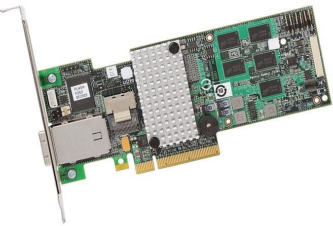 Intel RS2MB044, low profile, PCIe 2.0 x8