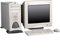 HP Compaq Professional Workstation SP750, P III Xeon 866MHz, 256MB, WinNT/Win2K (verschiedene Modelle)