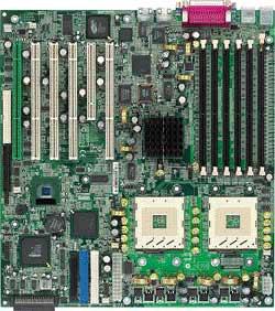 MSI MS-9101 E7500 Master-LS, iE7500, LAN, U160-SCSI (Dual, DDR)