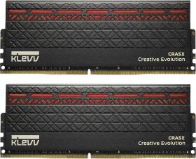 Klevv Cras II Red DIMM Kit 32GB, DDR4-2666, CL15-15-15-35 (KM4Z16X2N-2666-15-15-15-35-0)