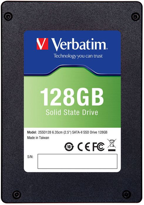 "Verbatim SSD upgrade kit 128GB, 2.5"", SATA II (47371)"