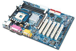 Albatron PX845PEV pro, i845PE, LAN (PC-2700 DDR)