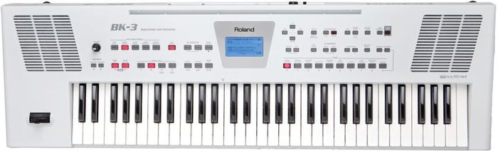Roland BK-3 Backing Keyboard white
