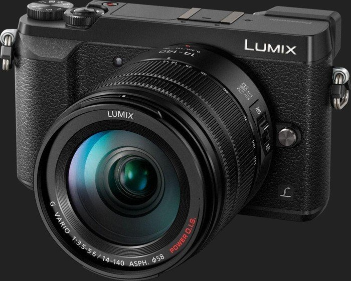 panasonic lumix dmc gx80 black with lens lumix g vario 14