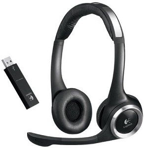 Logitech ClearChat PC Wireless, USB (981-000069)