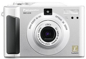 Panasonic Lumix DMC-LC33 silver