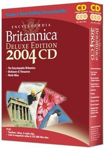 Encyclopaedia Britannica Deluxe Edition 2004 (German) (PC)