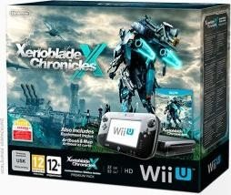 1c71b3b9a75 Nintendo Wii U Premium pack - 32GB Xenoblade Chronicles X Bundle black