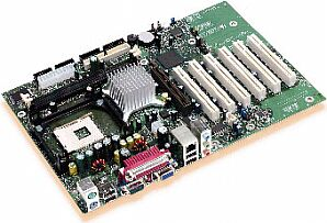 Intel D845GEBV2L, i845GE, LAN (PC-2700 DDR)