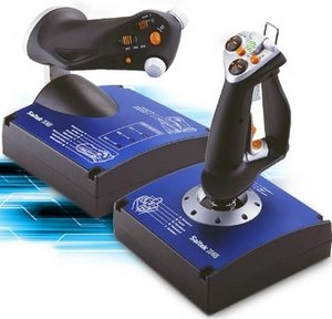 Saitek X45 Flight joystick System, USB (PC)