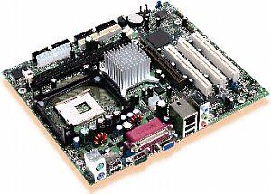 Intel D845GERG2L, i845GE, LAN (PC-2700 DDR)