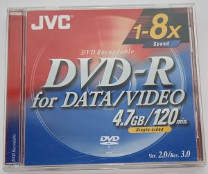 JVC DVD-R 4.7GB -- © bepixelung.org
