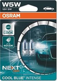 Osram Cool Blue Intense W5W 5W, 2-pack blister (2825HCBI-02B)