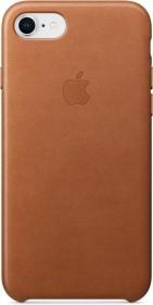 Apple Leder Case für iPhone 8 sattelbraun (MQH72ZM/A)