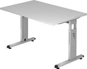 Hammerbacher Ergonomic O-Serie OS12/5, grau, Schreibtisch