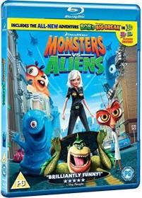 Monster vs. Alien (Blu-ray) (UK)