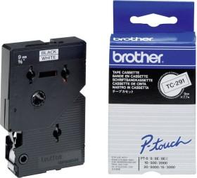 Brother TC-291 9mm, schwarz/weiß (TC291)