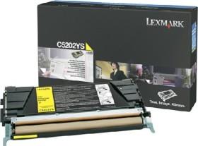 Lexmark Toner C5202YS gelb