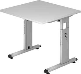 Hammerbacher Ergonomic O-Serie OS08/5, grau, Schreibtisch
