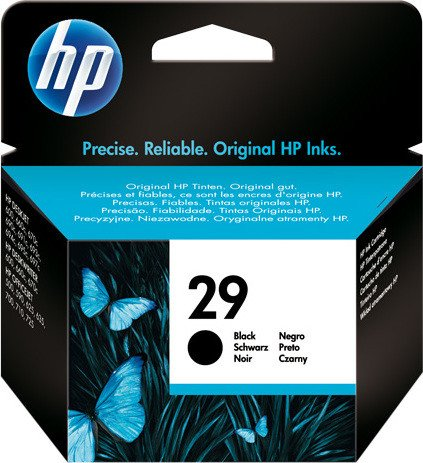 HP Printhead with ink Nr 29 black (51629AE)