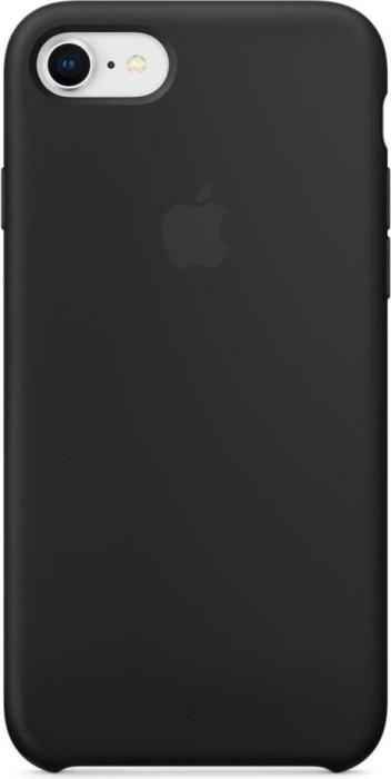 Apple Silikon Case für iPhone 8 schwarz (MQGK2ZM/A)
