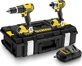 DeWalt DCK285M2 combo pack Cordless Tool Set incl. case + 2 Batteries 4.0Ah