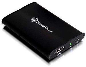 """SilverStone TS02, 2.5"""", USB-A 2.0/eSATA (SST-TS02B)"""
