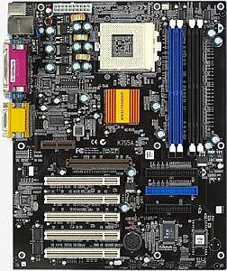 Elitegroup ECS-K7S5A, SiS735 [SDR/DDR]
