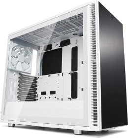 Fractal Design Define S2 white, noise-insulated, glass window (FD-CA-DEF-S2-WT-TGC)