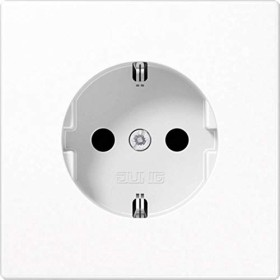 Jung series LS socket thermoset16A 250V, alpine white (LS 1520 WW)