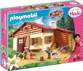 playmobil Heidi - Heidi und Großvater auf der Almhütte (70253)