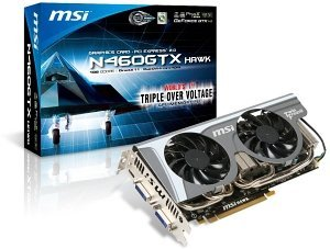 MSI N460GTX Hawk, GeForce GTX 460, 1GB GDDR5, 2x DVI, mini HDMI (V238-001R)