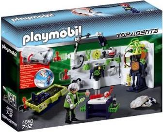 playmobil Top Agents - Robo-Gangster Labor mit Multifunktionstaschenlampe (4880) -- via Amazon Partnerprogramm