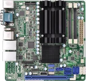 ASRock AD2550R/U3S3<br>Asrock ad2550r/U3S3 Motherboard for Server Atom D2550, Intel ICH10R, DDR3, S-ATA 600 and mini ITX
