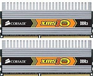 Corsair XMS3 DHX DIMM Kit 4GB, DDR3-1333, CL9-9-9-24 (TW3X4G1333C9DHX G)