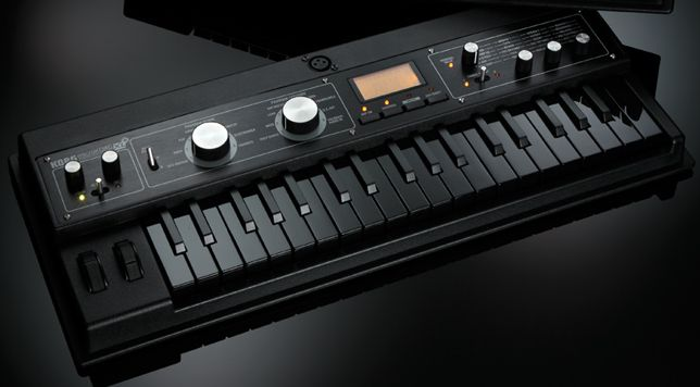 Korg microKORG XL+ BKBK Limited Edition Synthesizer black/black