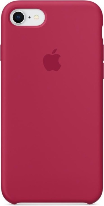 apple silikon case f r iphone 8 rosenrot mqgt2zm a ab. Black Bedroom Furniture Sets. Home Design Ideas