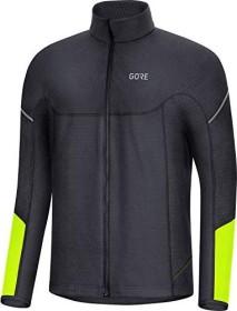 Gore Wear M Thermo Zip Shirt langarm black/neon yellow (Herren) (100529-9908)