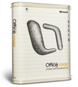 Microsoft Office 2004 Schulversion/SSL (englisch) (MAC) (BD6-00001)