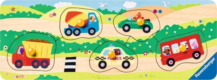 Holzspielzeug Ravensburger Setzpuzzle aus Holz Fahrzeuge