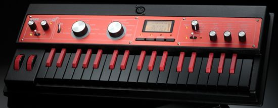 Korg microKORG XL+ BKRD Limited Edition Synthesizer black/red