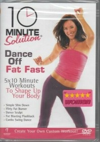 Fitness: 10 Minute Solution - Dance Off Fat Fast (DVD) (UK)