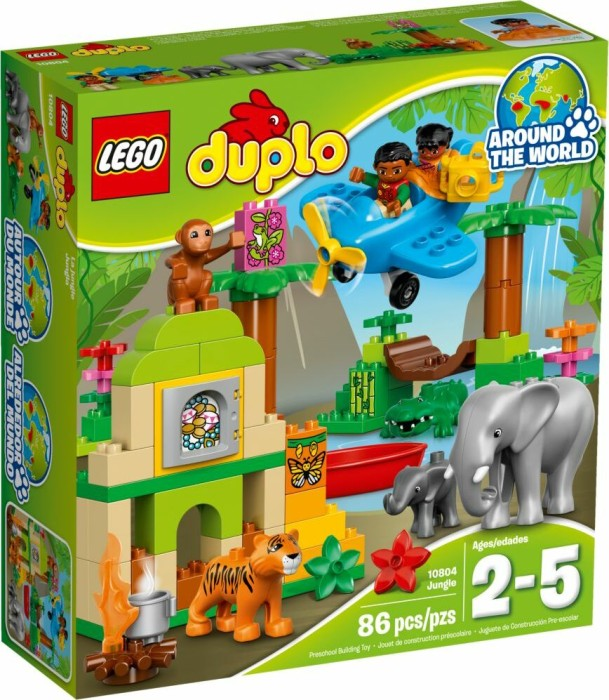 Lego Duplo Jungle 10804 Starting From 6067 2019 Skinflint