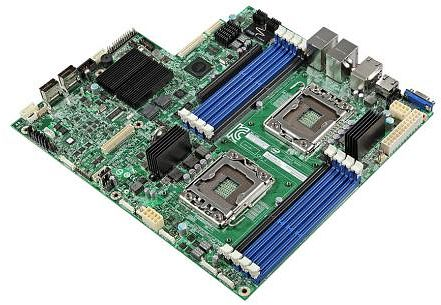 Intel Server Board S2400EP2, C602-A (dual Sockel-1356, quad PC3-12800U DDR3)