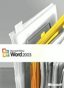 Microsoft: Word 2003 (PC) (059-04411)